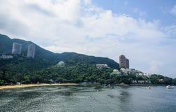 Wijs Baaistrand in Hong Kong af stock fotografie
