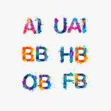 Wijs voedselpakketten in hotels (AI, OB, BB, FB, HB, UAI) aan vector illustratie