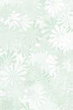 Wijze Groene BloemenAchtergrond Stock Foto's