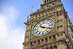 Wijzerplaat van Big Ben royalty-vrije stock afbeeldingen