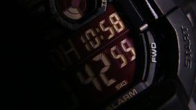 Wijzerplaat van Klassieke Klok stock footage
