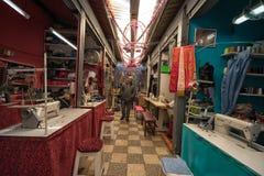 Wijzigingswinkels in Ibarra, Ecuador Royalty-vrije Stock Foto's