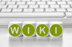 Wiki fotografia de stock