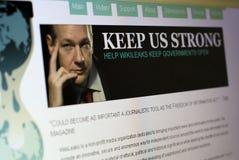 Free Wiki Leaks Website Royalty Free Stock Photo - 17362755