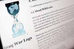 Wikileaks lizenzfreie stockfotografie