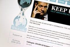 WikiLeaks Stock Photos