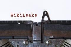 WikiLeaks stock afbeelding
