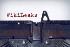 WikiLeaks fotografia stock libera da diritti