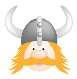 Wikinger-Karikatur Lizenzfreies Stockbild
