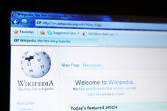 Wikipedia Stock Images
