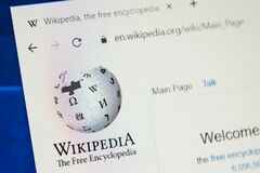 Free Wikipedia.org Web Site. Selective Focus. Royalty Free Stock Photography - 179273337