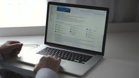 Wikipedia webpage na macbook