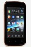 Wiko Cink тонкое - изолированный мобильный телефон андроида Стоковое фото RF