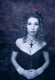 Wiktoriańska dama Zdjęcia Royalty Free