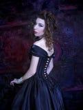 Wiktoriańska dama Fotografia Royalty Free
