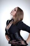 wiktoriański arystokratyczna odzieżowa kobieta Fotografia Stock