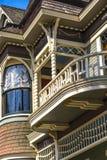 Wiktoriański domu szczegóły Zdjęcie Royalty Free