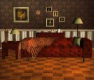 Wiktoriański pokój ilustracji
