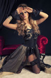 wiktoriański seksowna kobieta Obraz Royalty Free