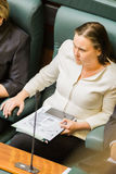 Wiktoriański stanu parlament - czas pytań Zdjęcia Stock