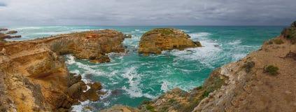 Wiktoriański wybrzeże zdjęcie stock
