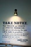 Wiktoriański (xix wiek) więzienie przy Lincoln kasztelem zdjęcia royalty free