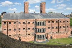 Wiktoriański (xix wiek) więzienie przy Lincoln kasztelem obrazy royalty free