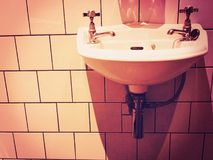 Wiktoriański zlew i łazienka Fotografia Stock