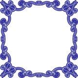 Wiktoriańskiego swirll prześwietna rama Obraz Royalty Free
