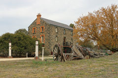 Wiktoria mąki młyny zalewali w 1909 i zamykali w 1914 (1869) Ja jest teraz intymnym siedzibą Obraz Royalty Free