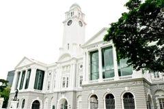 Wiktoria Memorial Hall Singapur Zdjęcie Royalty Free
