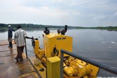 Wiktoria Nil rzeka w Uganda, Afryka Obraz Royalty Free