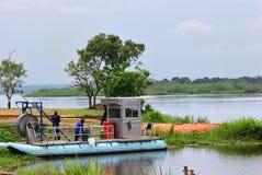 Wiktoria Nil rzeka w Uganda, Afryka Zdjęcie Royalty Free