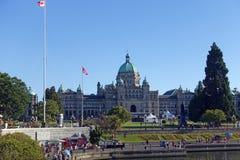Wiktoria parlamentu budynek Zdjęcie Royalty Free