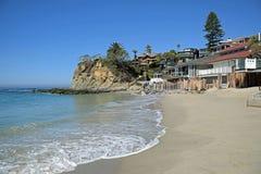 Wiktoria plaża, laguna beach, Kalifornia zdjęcie royalty free