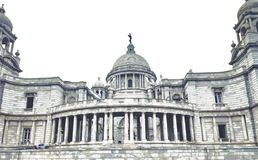 Wiktoria pomnik Kolkata zdjęcie royalty free