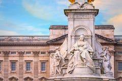 Wiktoria pomnik przy centrum handlowe drogą przed buckingham palace, Londyn Obraz Royalty Free