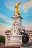 Wiktoria pomnik przy centrum handlowe drogą przed buckingham palace, Londyn Fotografia Royalty Free