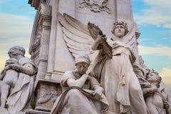 Wiktoria pomnik przy centrum handlowe drogą przed buckingham palace, Londyn Fotografia Stock