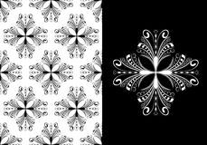 wiktoriański antykwarska bezszwowa tapeta Obrazy Royalty Free