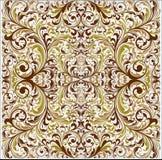 Wiktoriański Tapetowy wektoru wzór Fotografia Royalty Free
