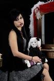 wiktoriańskie gothic kobieta Zdjęcie Stock