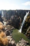 Wiktoria spadki, Afryka Zdjęcia Stock