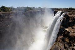 Wiktoria spadki, Afryka Zdjęcie Stock