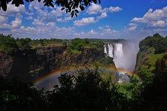 Wiktoria spadki Zimbabwe Fotografia Royalty Free