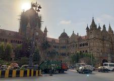 Wiktoria Terminus, Mumbai India fotografia royalty free