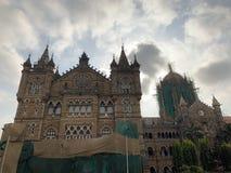 Wiktoria Terminus, Mumbai India obrazy stock
