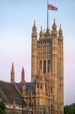 Wiktoria wierza, pałac Westminister, Londyn Zdjęcia Royalty Free