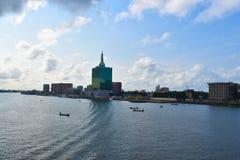 Wiktoria wyspa, Lagos, Nigeria Zdjęcia Royalty Free