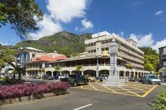 Wiktoria Zegarowy wierza, Mahe, Seychelles, artykuł wstępny Obrazy Stock